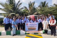 Industrial Visit at Coco Cola Plant, Hyderabad.